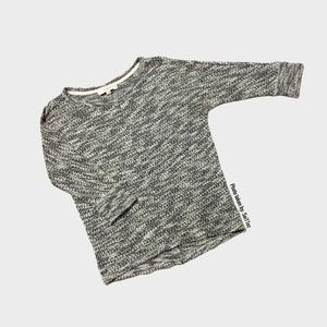 Ann Taylor Loft Speckled Gray Sweater